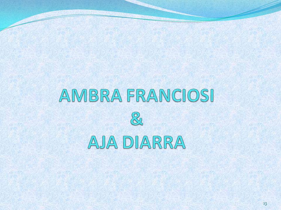 AMBRA FRANCIOSI & AJA DIARRA