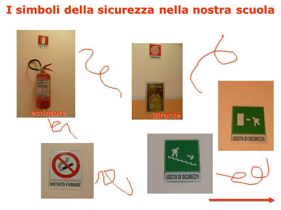 I simboli della sicurezza nella nostra scuola