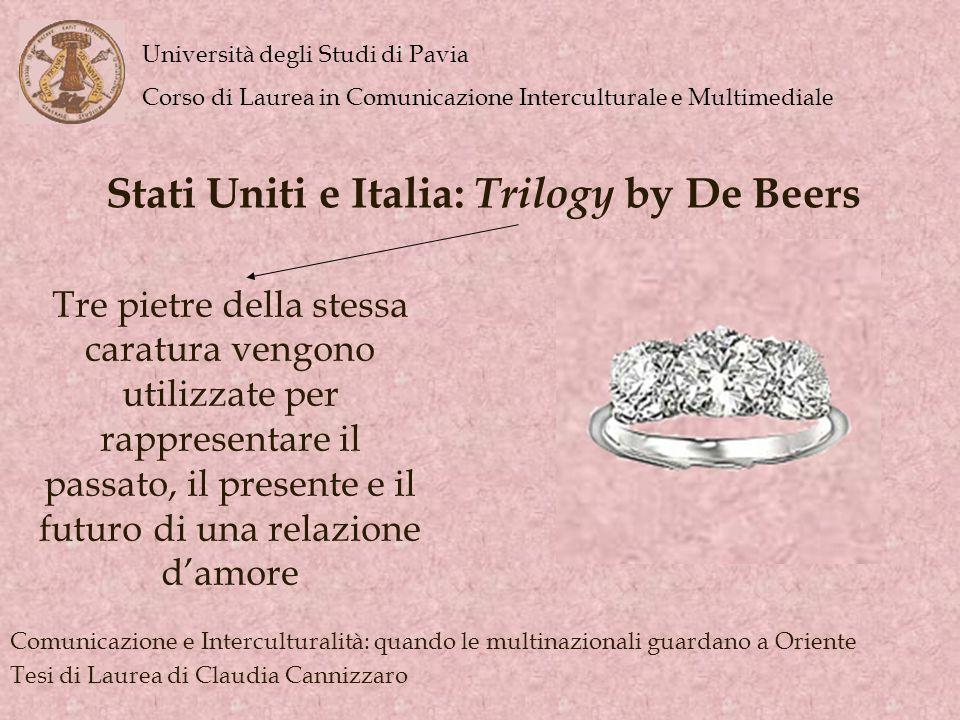 Stati Uniti e Italia: Trilogy by De Beers