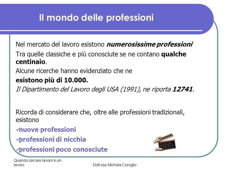 Il mondo delle professioni