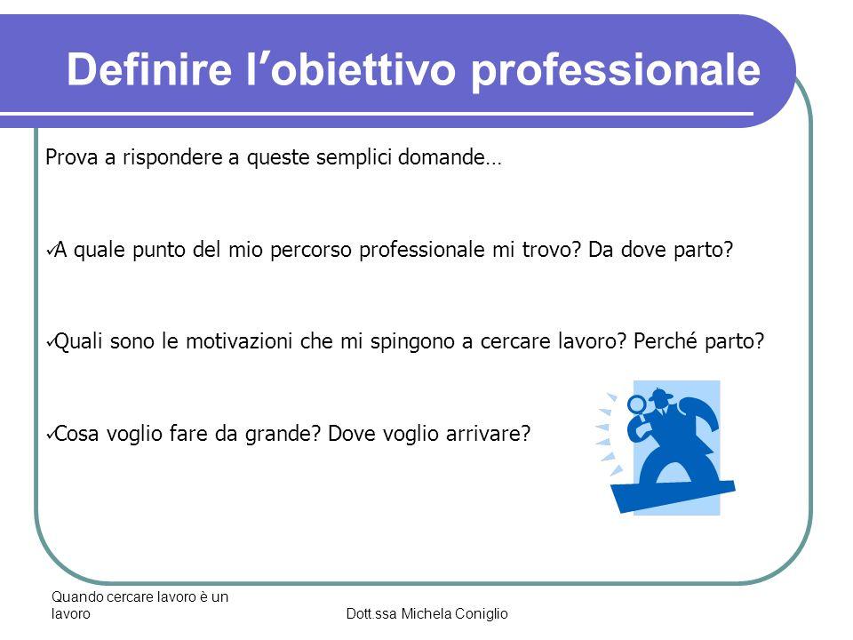 Dott.ssa Michela Coniglio