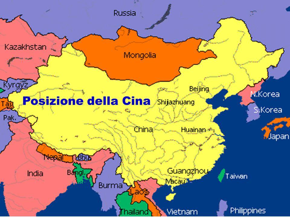Posizione della Cina