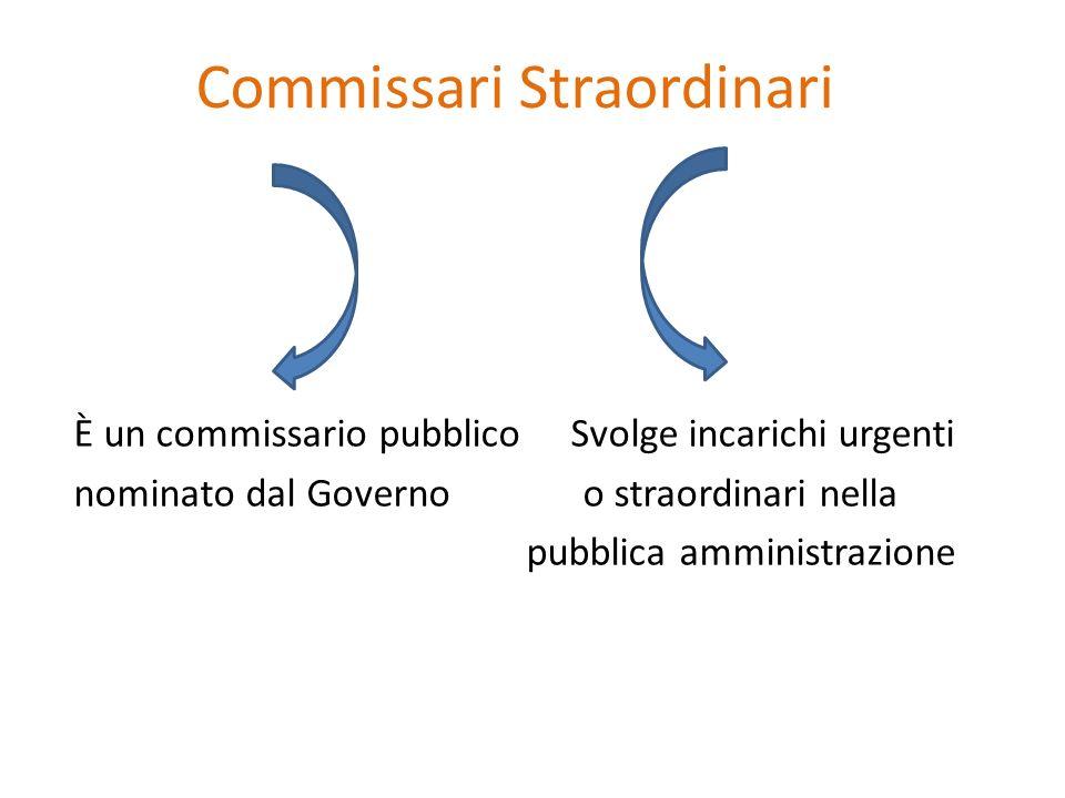 Commissari Straordinari
