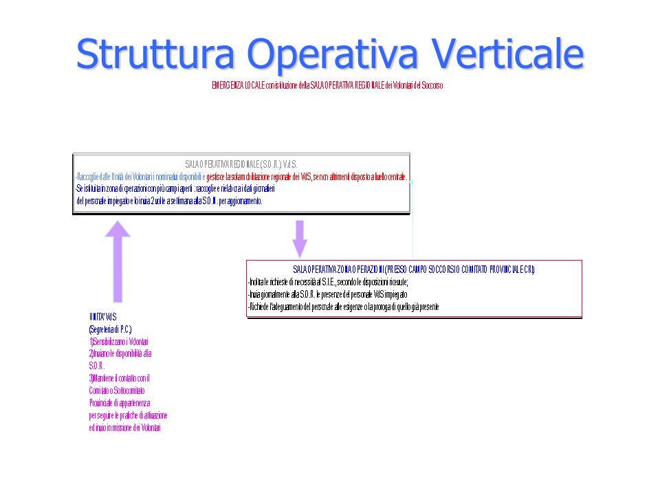Struttura Operativa Verticale
