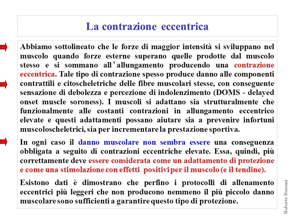 La contrazione eccentrica