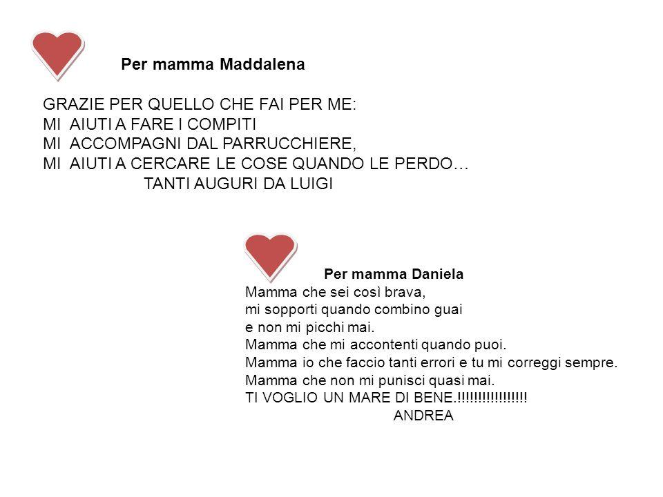 Eccezionale Un pensiero per la mamma - ppt video online scaricare VC32