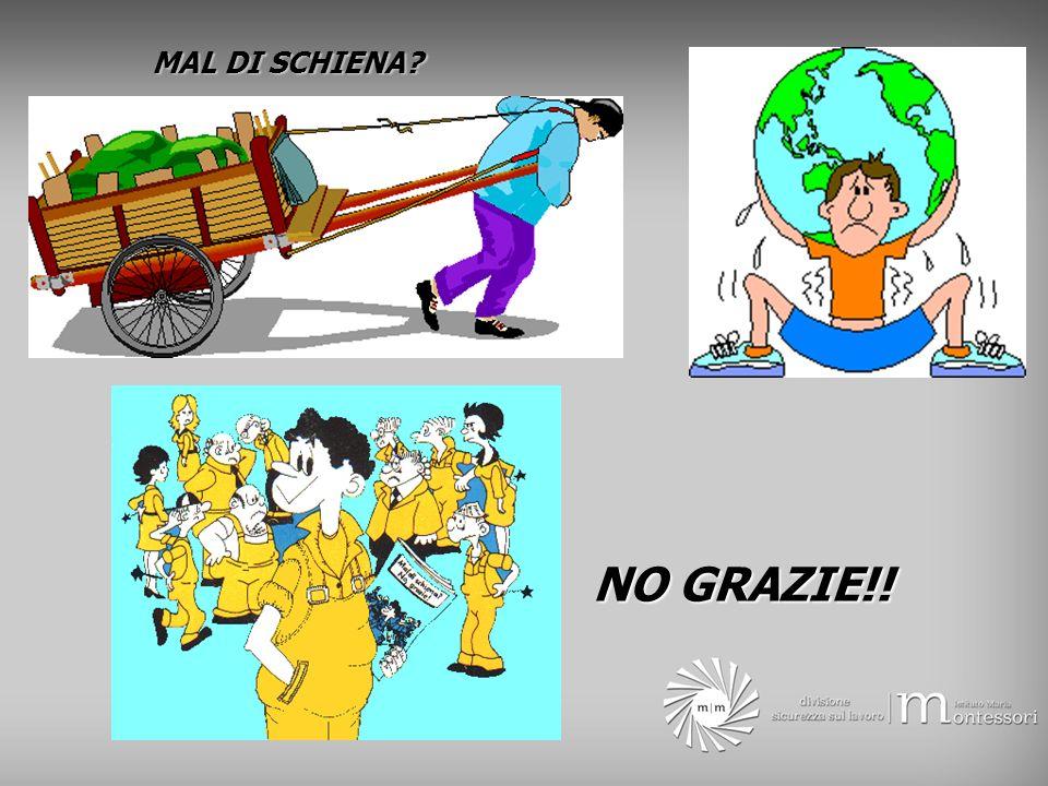 MAL DI SCHIENA NO GRAZIE!!