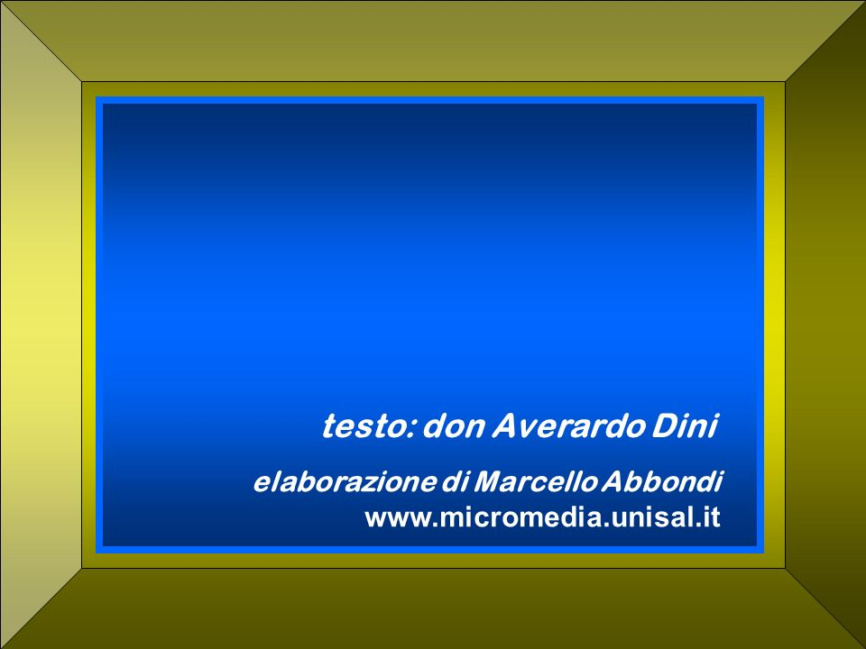 testo: don Averardo Dini