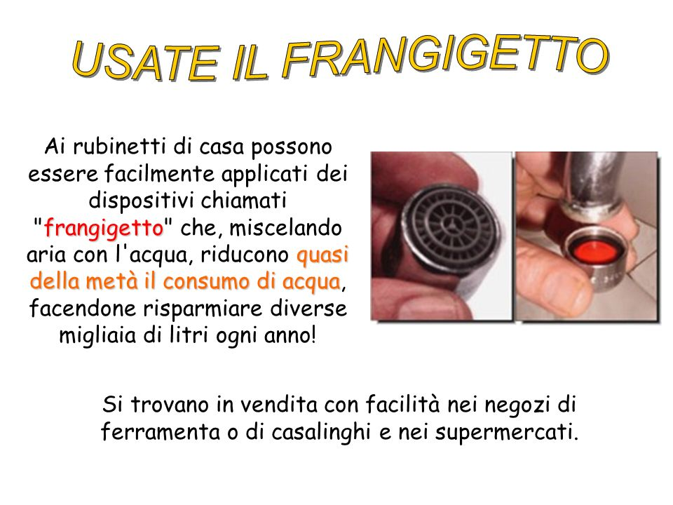 USATE IL FRANGIGETTO