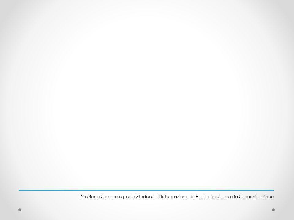 Direzione Generale per lo Studente, l'Integrazione, la Partecipazione e la Comunicazione