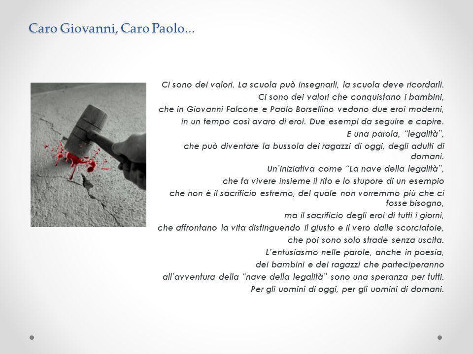 Caro Giovanni, Caro Paolo...
