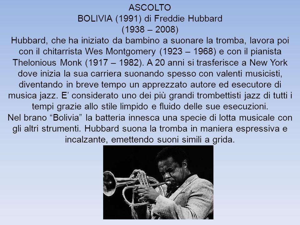 BOLIVIA (1991) di Freddie Hubbard