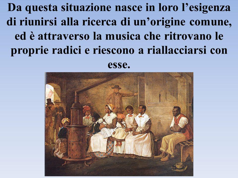 Da questa situazione nasce in loro l'esigenza di riunirsi alla ricerca di un'origine comune, ed è attraverso la musica che ritrovano le proprie radici e riescono a riallacciarsi con esse.