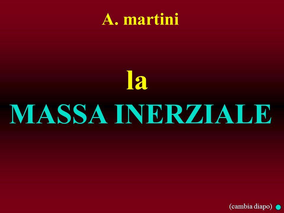 A. martini la MASSA INERZIALE (cambia diapo)