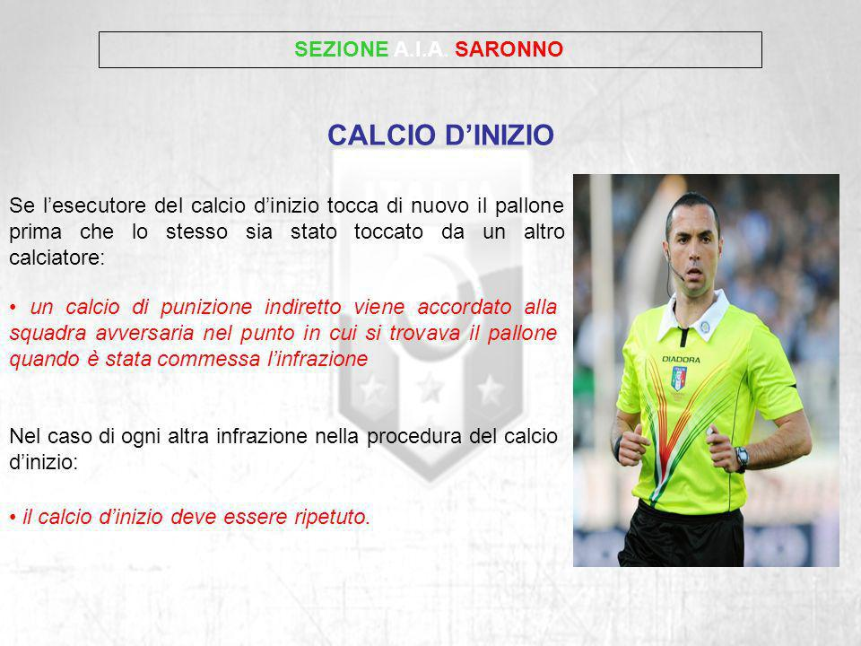 CALCIO D'INIZIO SEZIONE A.I.A. SARONNO
