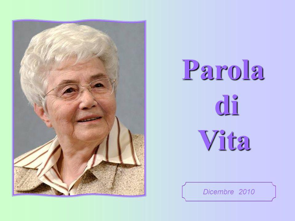 Parola di Vita Dicembre 2010 1