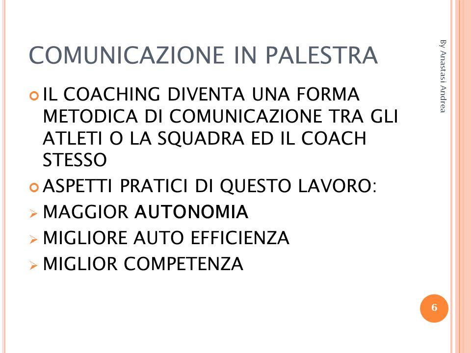 COMUNICAZIONE IN PALESTRA