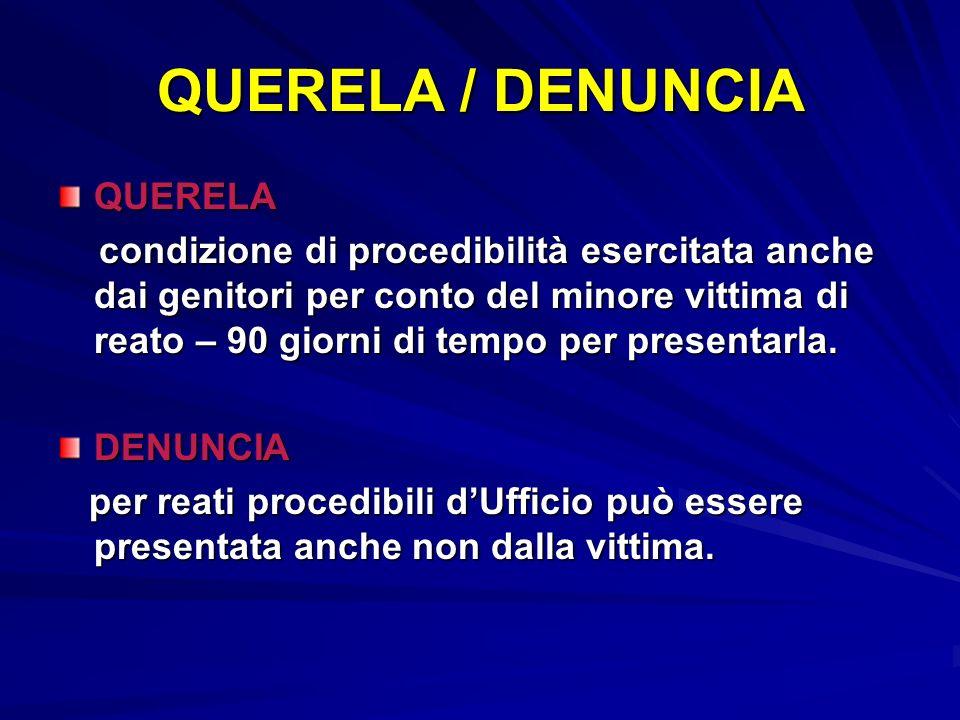 QUERELA / DENUNCIA QUERELA