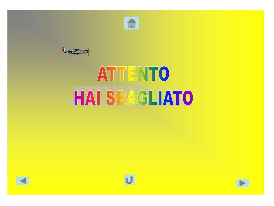 ATTENTO HAI SBAGLIATO