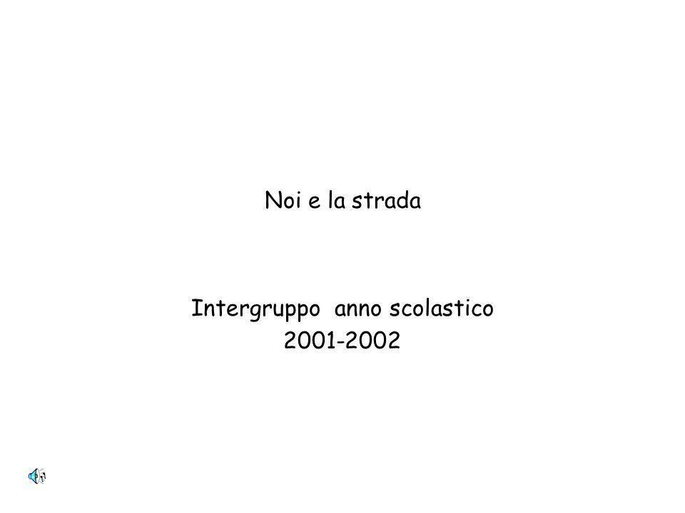 Intergruppo anno scolastico 2001-2002