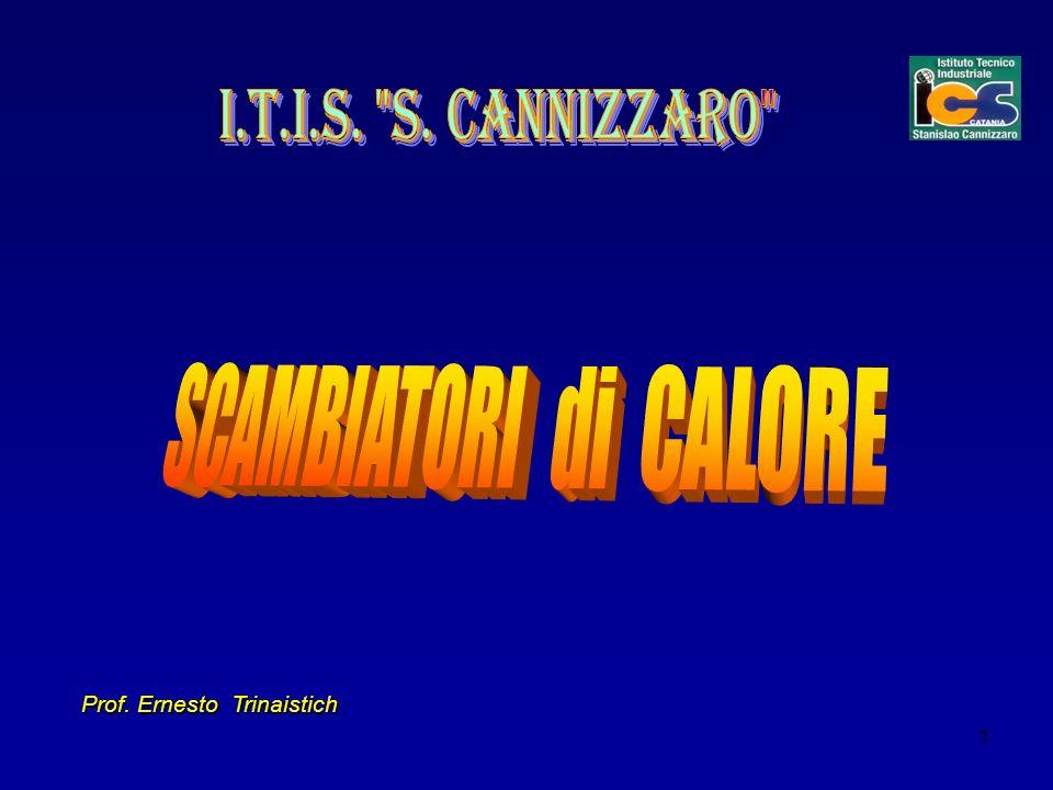 I.T.I.S. S. Cannizzaro SCAMBIATORI di CALORE