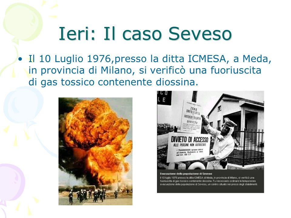 Ieri: Il caso Seveso