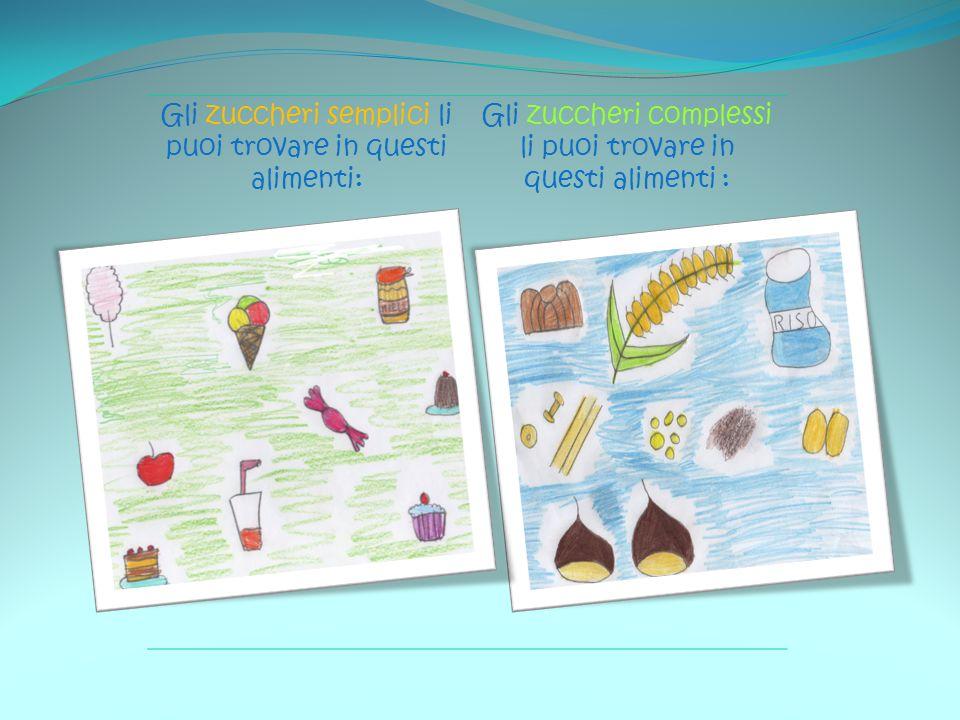 Gli zuccheri semplici li puoi trovare in questi alimenti: