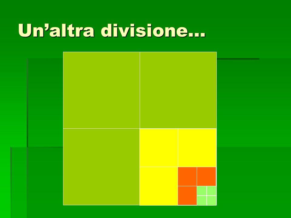 Un'altra divisione…