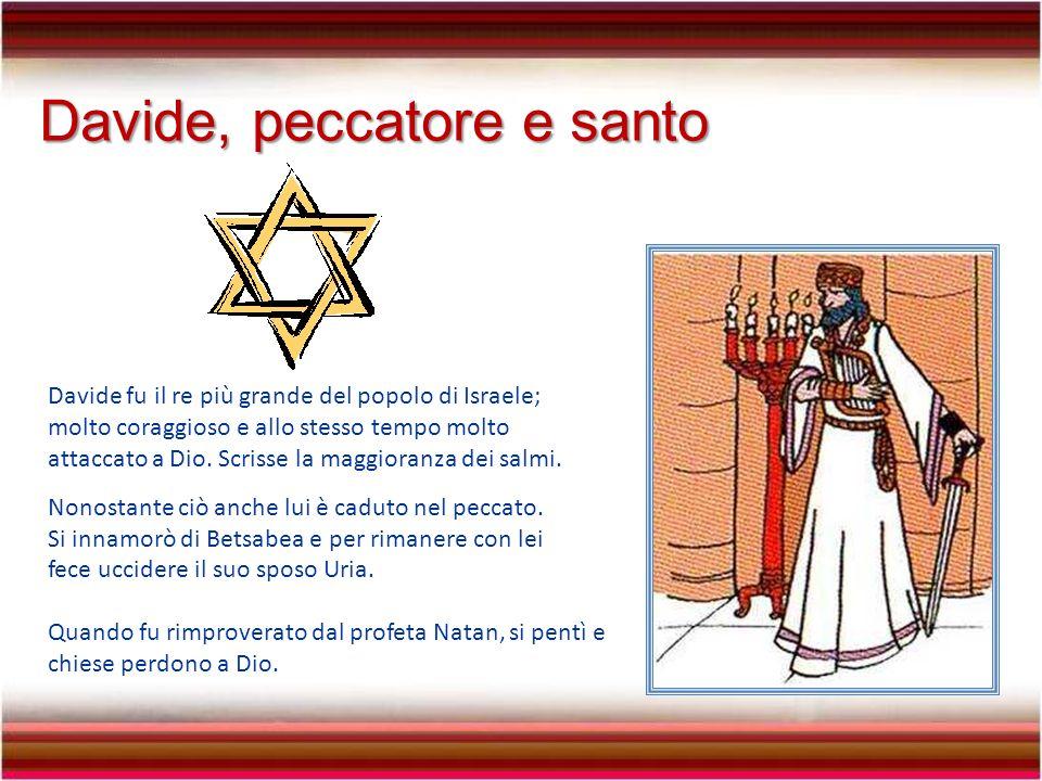 Davide, peccatore e santo