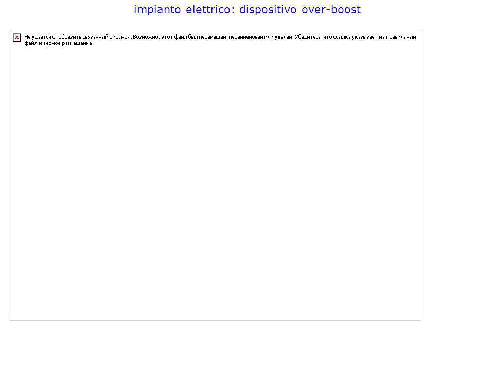 impianto elettrico: dispositivo over-boost