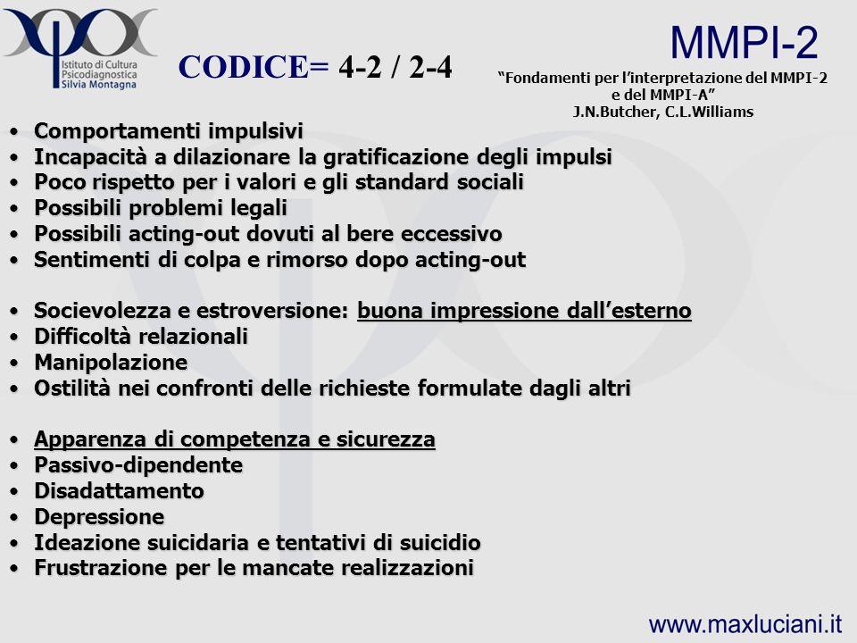 Fondamenti per l'interpretazione del MMPI-2 e del MMPI-A