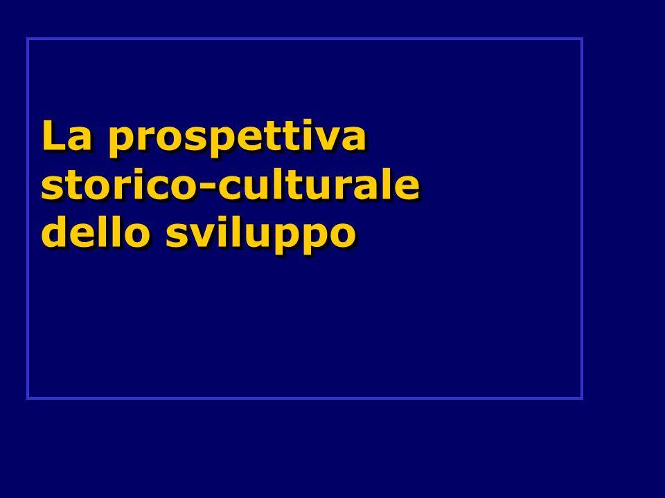 La prospettiva storico-culturale dello sviluppo