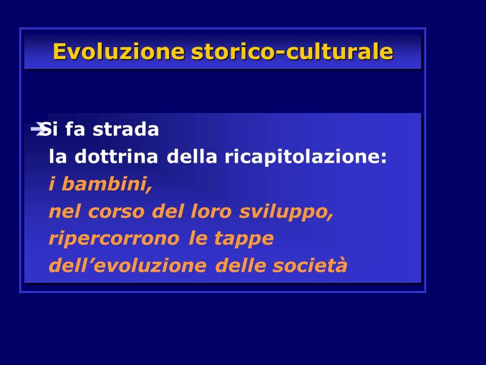 Evoluzione storico-culturale