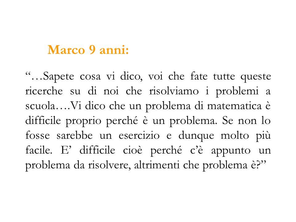 Marco 9 anni: