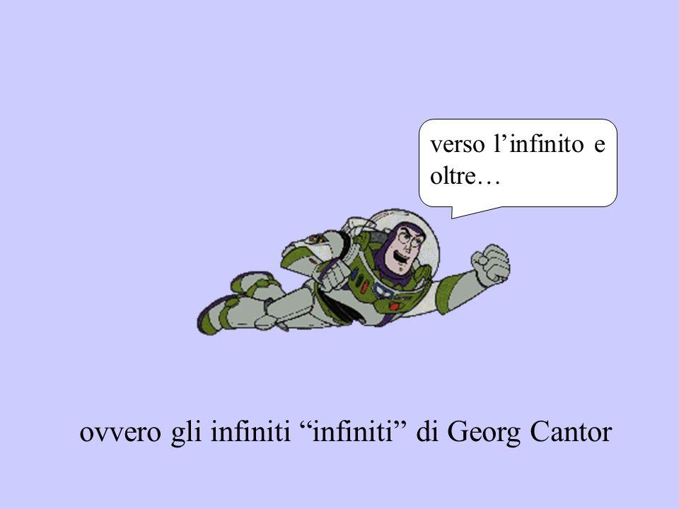 ovvero gli infiniti infiniti di Georg Cantor