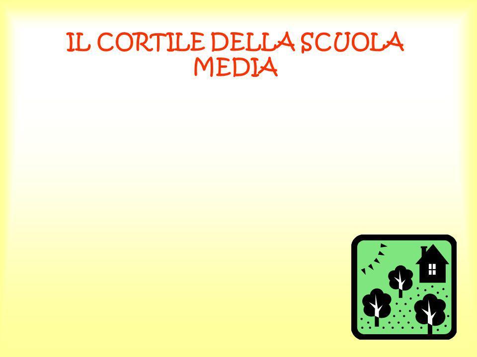 IL CORTILE DELLA SCUOLA MEDIA