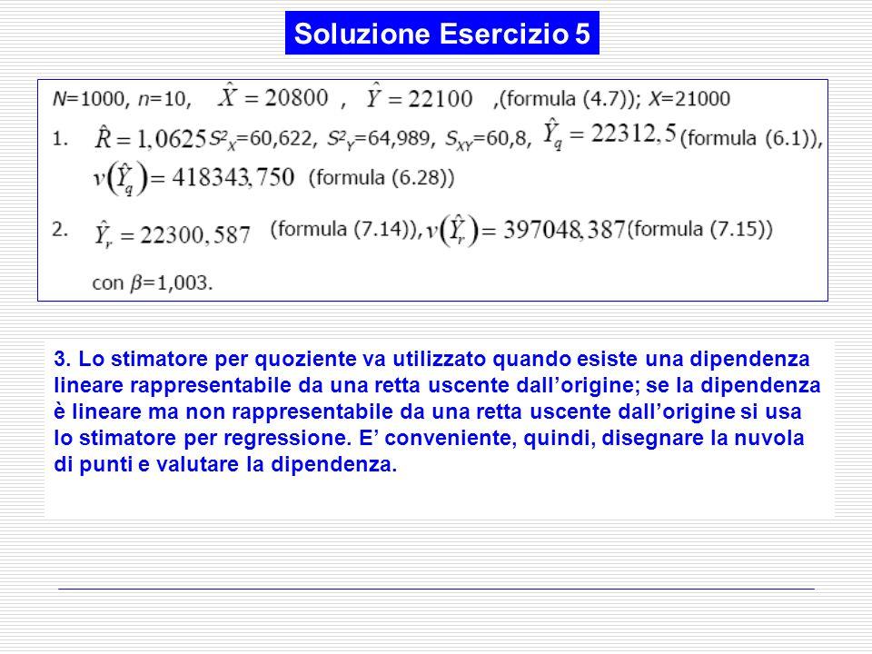 Soluzione Esercizio 5