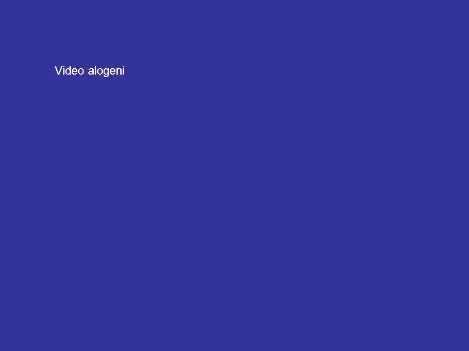 Video alogeni