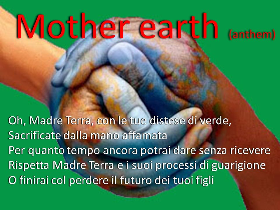 Mother earth (anthem)