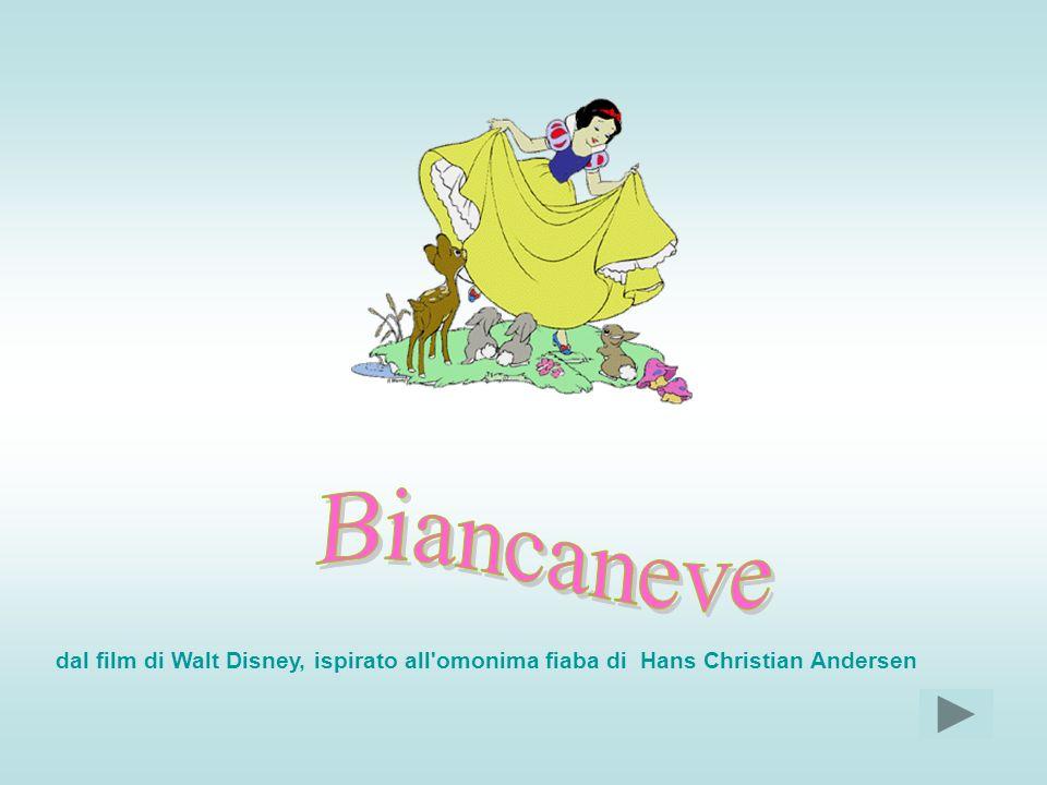 Biancaneve dal film di Walt Disney, ispirato all omonima fiaba di Hans Christian Andersen