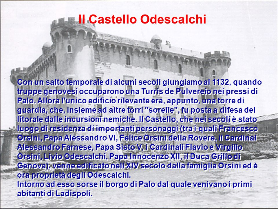 Il Castello Odescalchi