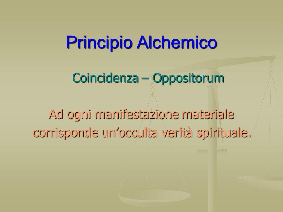 Principio Alchemico Coincidenza – Oppositorum