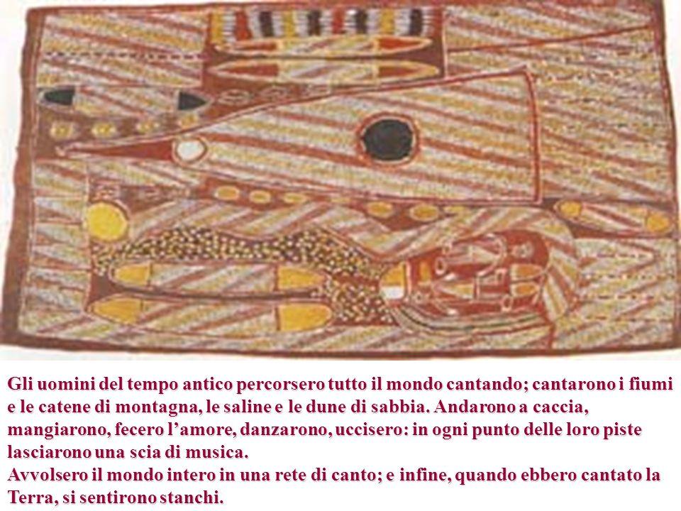 Bruce Chatwin, Le vie dei canti, ed Adelphi, Milano, 1996, p.103