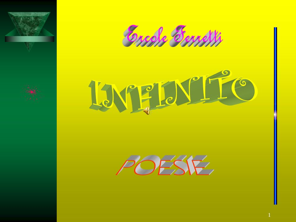 Ercole Ferretti INFINITO POESIE