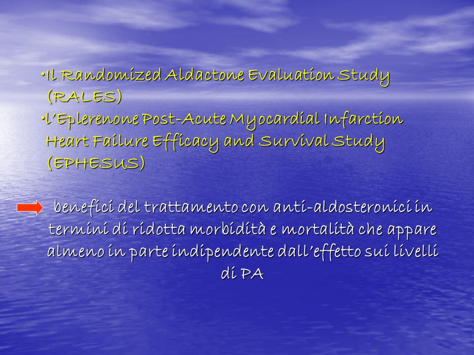 Il Randomized Aldactone Evaluation Study