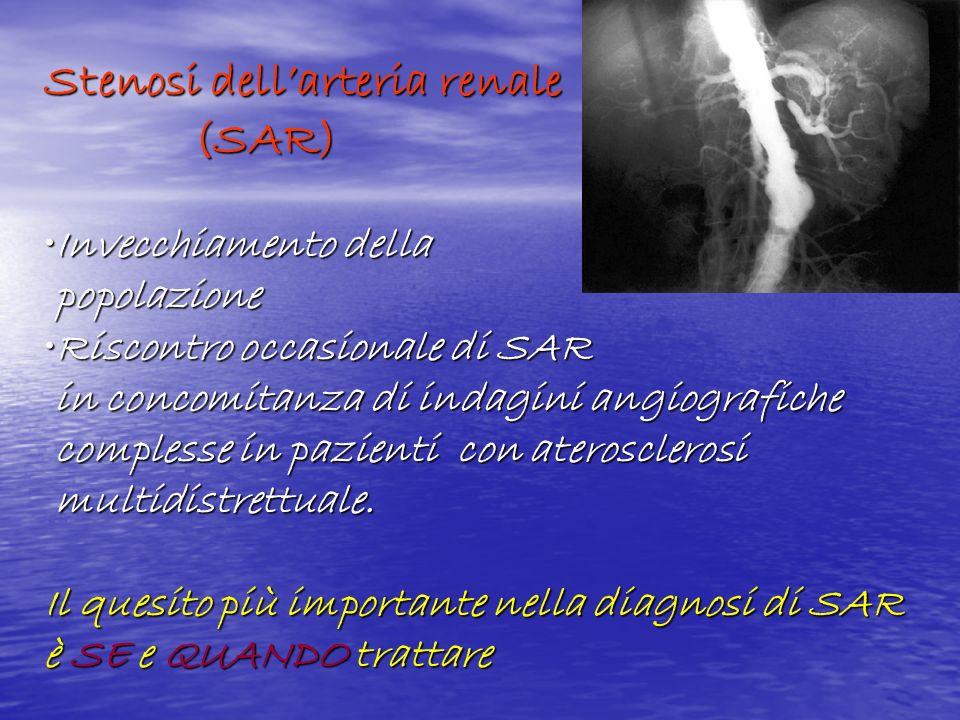 Stenosi dell'arteria renale (SAR)