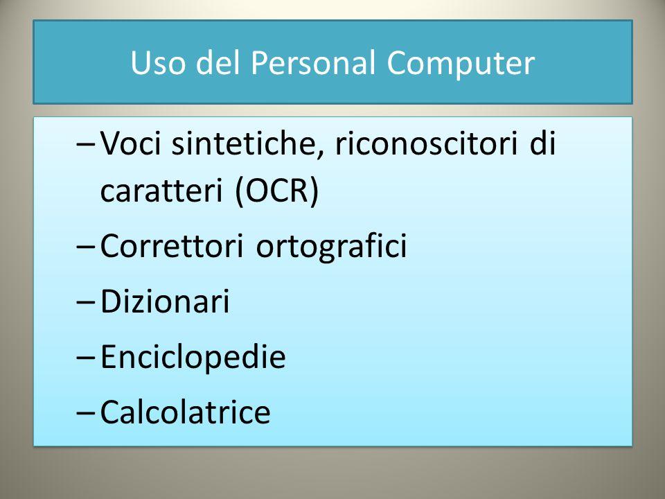 Uso del Personal Computer