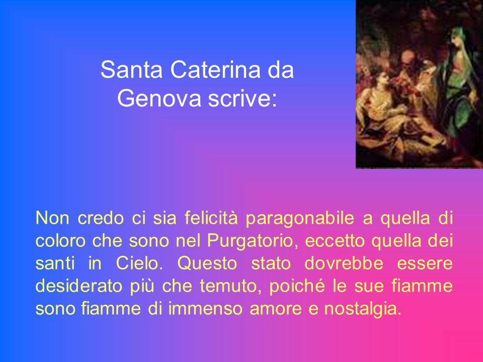 Santa Caterina da Genova scrive:
