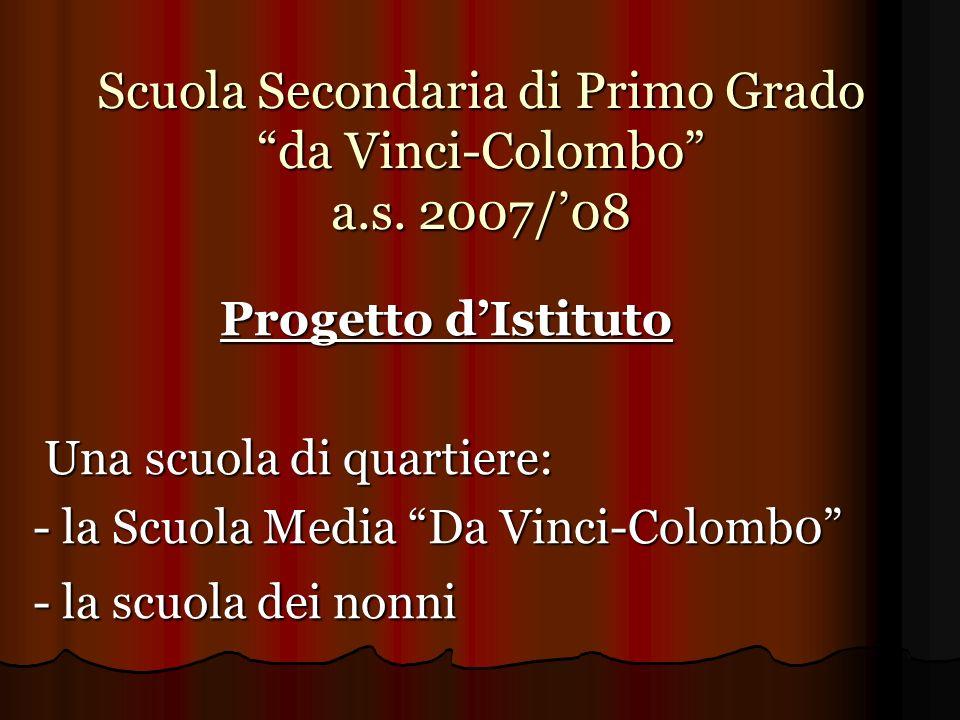 Scuola Secondaria di Primo Grado da Vinci-Colombo a.s. 2007/'08