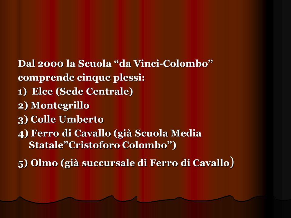 Dal 2000 la Scuola da Vinci-Colombo